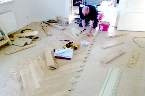 Lijmen houten vloeren fairwood